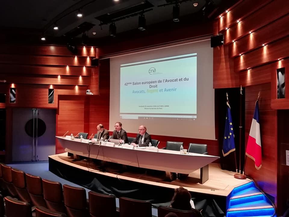L'AAPPE est heureuse d'avoir été invitée par la CNA, et de participer au 42ème Salon de l'Avocat et du Droit.