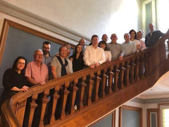 Le conseil d'administration renouvelé de l'AAPPE, déjà au travail à Marseille !