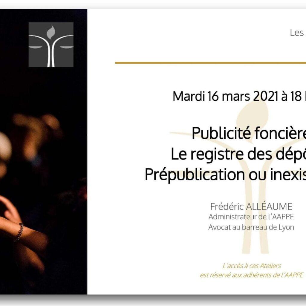 Atelier d'Echange du 16 mars 2021 à 18 h 00